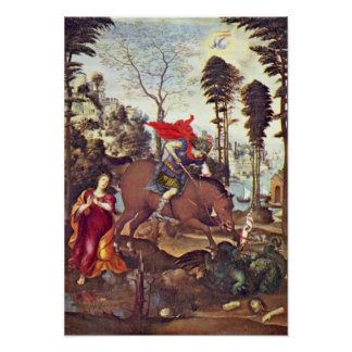 St. George by Il Sodoma Poster
