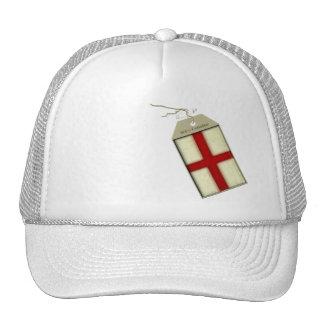 St George Cross Label Trucker Hat