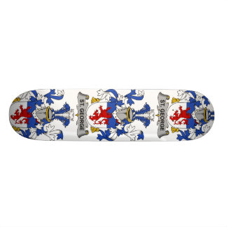 St. George Family Crest Skate Boards