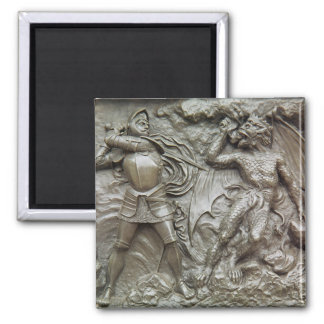 St. George Fighting the Dragon Magnet