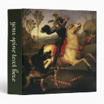 St. George Fighting the Dragon, Raphael, Raffaello Binders