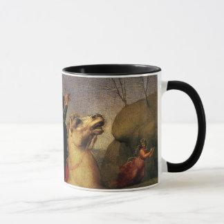 St. George Fighting the Dragon, Raphael, Raffaello Mug
