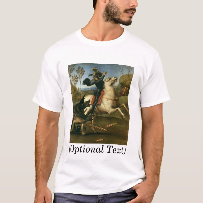 St George Fighting the Dragon T-Shirt