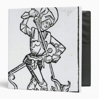 St. George, from the 'Liber Chronicarum' Vinyl Binder