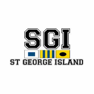 St. George Island. Cutout