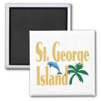 St. George Island Florida Fridge Magnet
