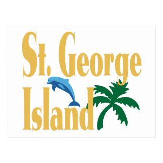 St. George Island Florida Postcard