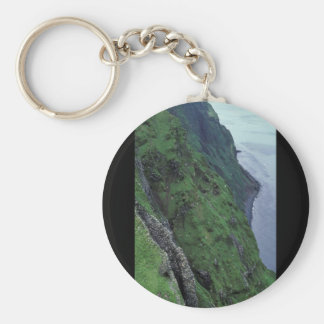 St George Island Pribilofs High Bluffs Key Chain