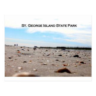 ST. GEORGE ISLAND STATE PARK - FLORIDA POSTCARD