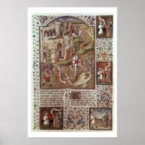 St. George killing Dragons Poster