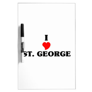 ST. George Pink Girl Dry Erase Whiteboards