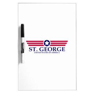 St. George Pride Dry-Erase Whiteboard
