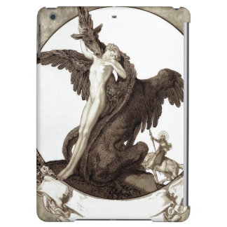 St. George Rescuing a Maiden from a Dragon Cover For iPad Air