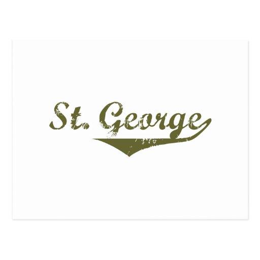 St. George  Revolution t shirts Postcards
