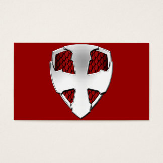 St George Shield Business Card