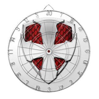 St George Shield Dartboard With Darts