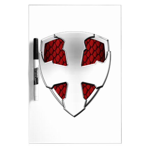 St George Shield Dry-Erase Boards