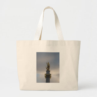 St. George Statue At Liberty Square In Tbilisi Bags