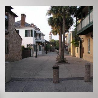 St. George Street, St. Augustine Poster
