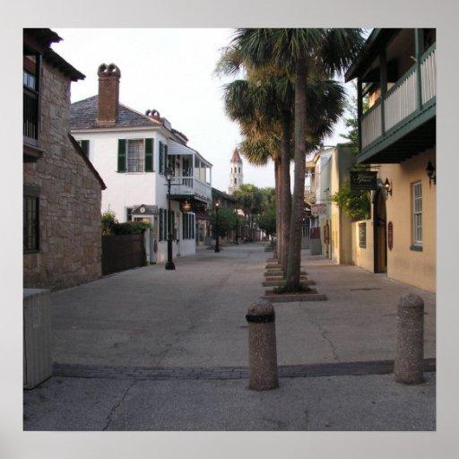 St. George Street, St. Augustine Posters