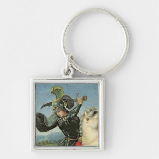 St. George Struggling with the Dragon Keychain