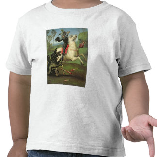 St. George Struggling with the Dragon T Shirt