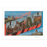 St. George, Utah - Large Letter Scenes Postcard
