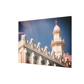 St. George Utah Mormon Temple Canvas Print