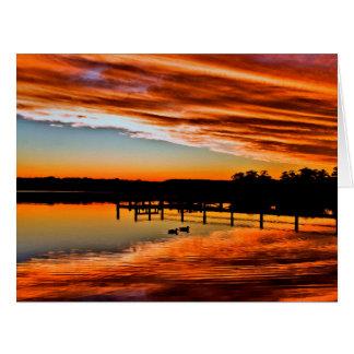 St Georges Basin 3 Autumn Card