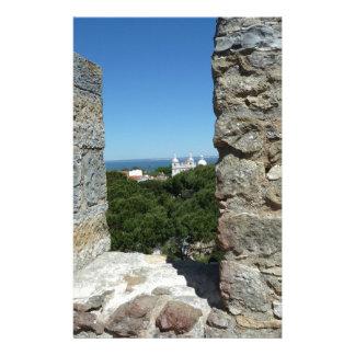 St George's Castle greeting card (Lisbon,Portugal)
