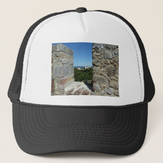 St George's Castle greeting card (Lisbon,Portugal) Trucker Hat