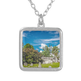 St Georges Cemetery Silver Plated Necklace