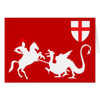St.George's Day Card