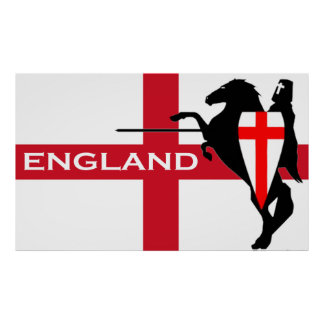 St. George's Day England Poster