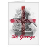 St Georges Day Greeting Cards