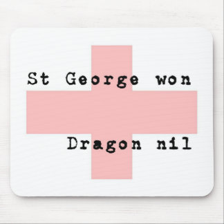 St George's Day Mouse Pad