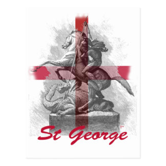 St Georges Day Postcard