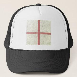 ST GEORGES FLAG. TRUCKER HAT