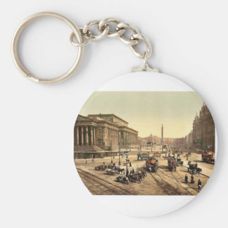 St. George's Hall, Liverpool, England rare Photoch Key Chain