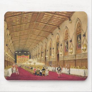 St George's Hall, Windsor Castle, 1838 (colour lit Mouse Pad
