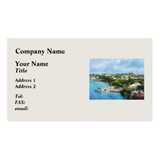 St. George's Harbour, Bermuda Business Cards