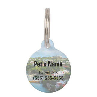 St. George's Harbour, Bermuda Pet Name Tags