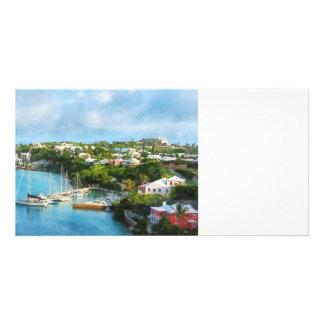 St. George's Harbour, Bermuda Custom Photo Card
