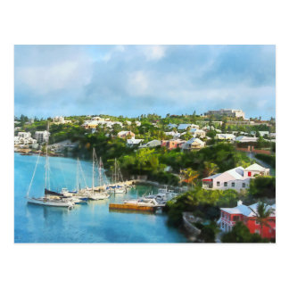 St. George's Harbour, Bermuda Postcard