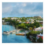 St. George's Harbour, Bermuda Poster