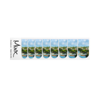 St. George's Harbour, Bermuda Wedding Products Minx® Nail Wraps