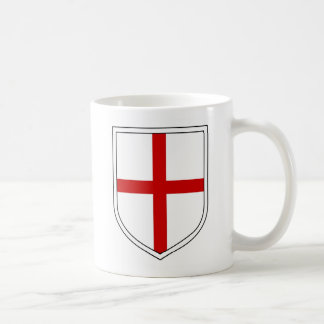 St George's Shield Classic White Coffee Mug