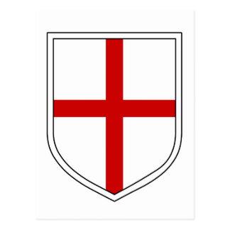 St George's Shield Postcard