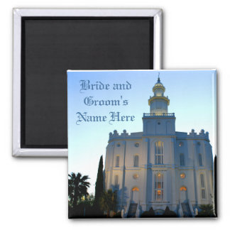 St.GeorgeTemple-Magnet-Customizable Magnet