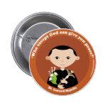 St. Gerard Majella Pinback Button